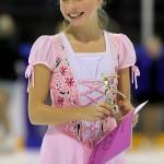 Nicole Green, glad vinnare vid Laxhoppet 2012