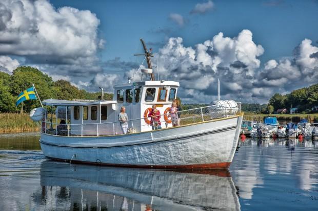 M/S Tjärö i Järnaviks hamn